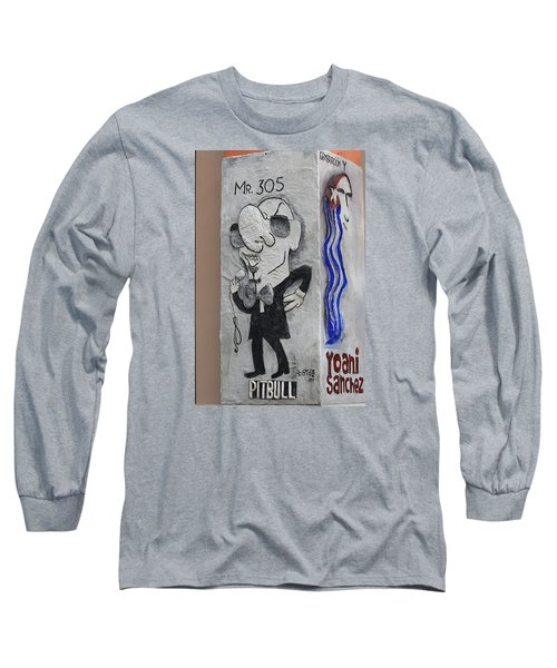Calle Ocho Art Long Sleeve T-Shirt