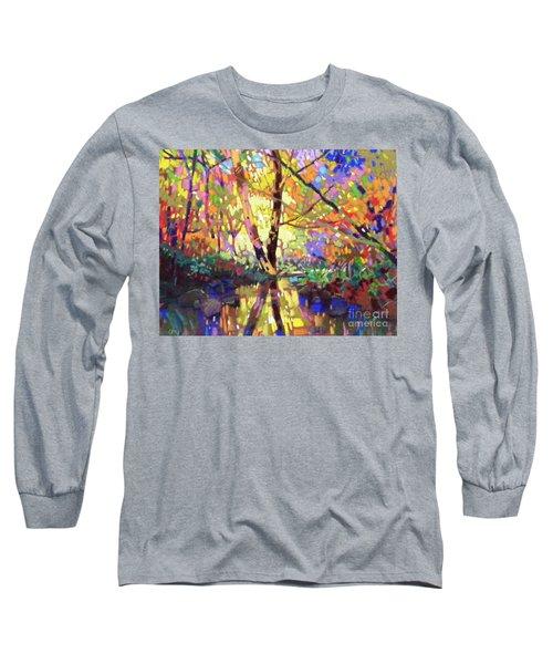 Calm Reflection Long Sleeve T-Shirt