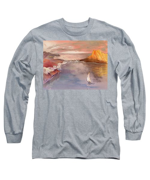 Calpe At Sunset Long Sleeve T-Shirt