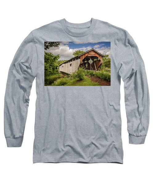 Cambridge Junction Bridge Long Sleeve T-Shirt