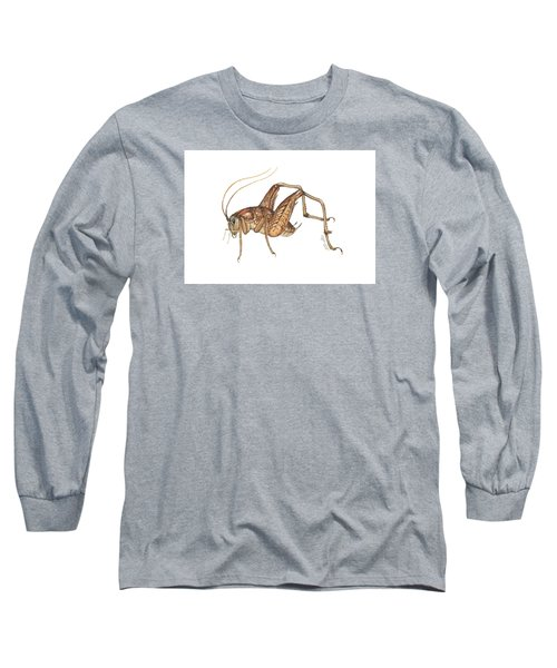 Camel Cricket Long Sleeve T-Shirt by Cindy Hitchcock