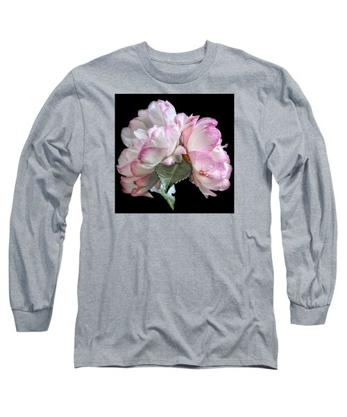 Long Sleeve T-Shirt featuring the photograph Camelia by Susi Stroud