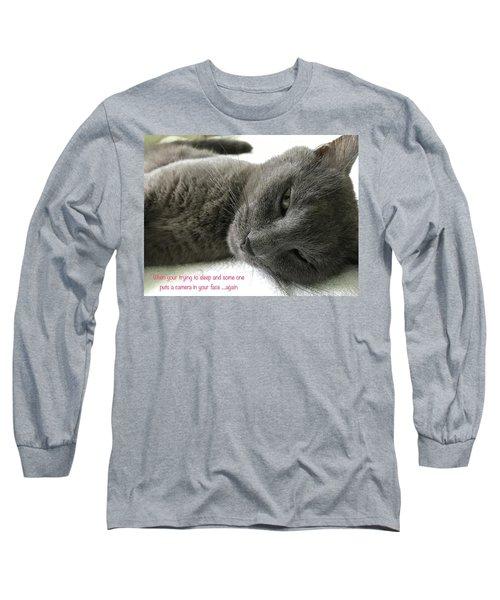 Resting Face Long Sleeve T-Shirt