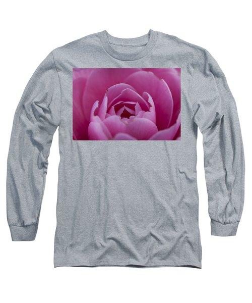 Camellia Close-up Long Sleeve T-Shirt
