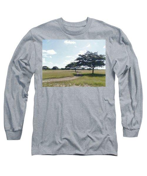 Camino En La Pradera Long Sleeve T-Shirt