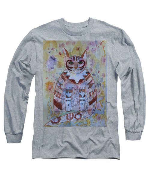 Camo Cat Long Sleeve T-Shirt