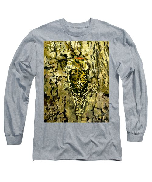 Camouflage Long Sleeve T-Shirt by Alice Leggett