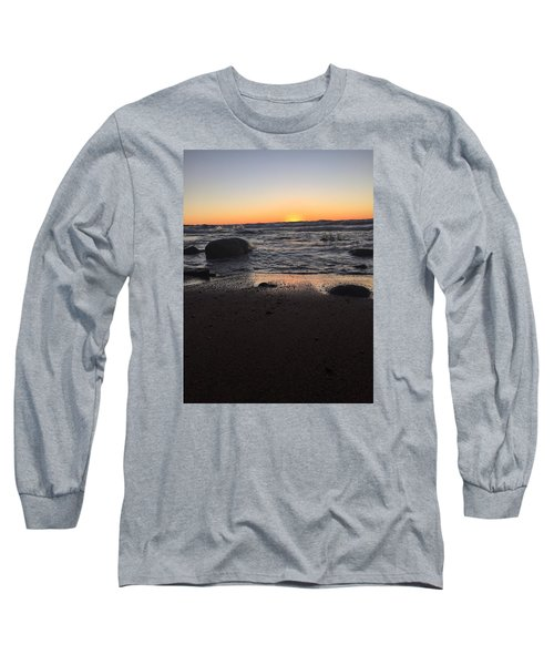 Long Sleeve T-Shirt featuring the photograph Camp In The Fall by Paula Brown