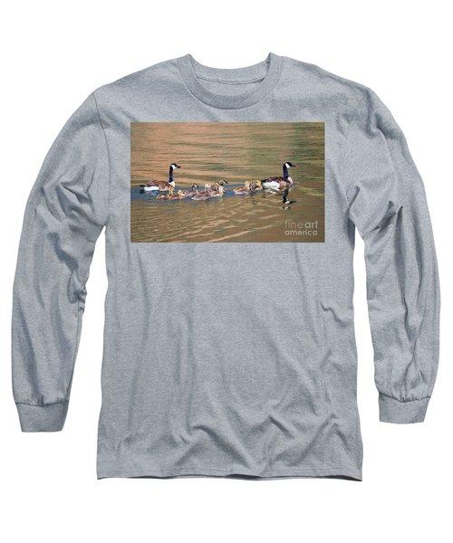Canada Goose Family Long Sleeve T-Shirt