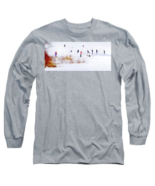 Long Sleeve T-Shirt featuring the photograph Canadiana by John Poon