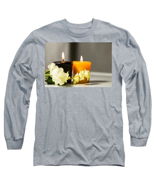 Candle Long Sleeve T-Shirt by Hyuntae Kim