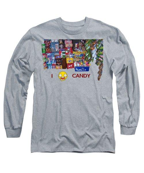 Candy Long Sleeve T-Shirt by David and Lynn Keller