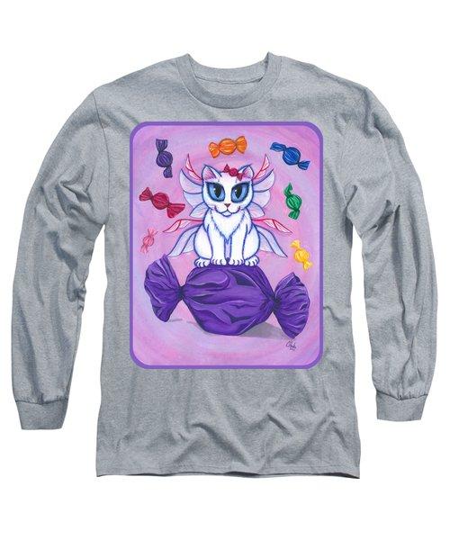Candy Fairy Cat, Hard Candy Long Sleeve T-Shirt