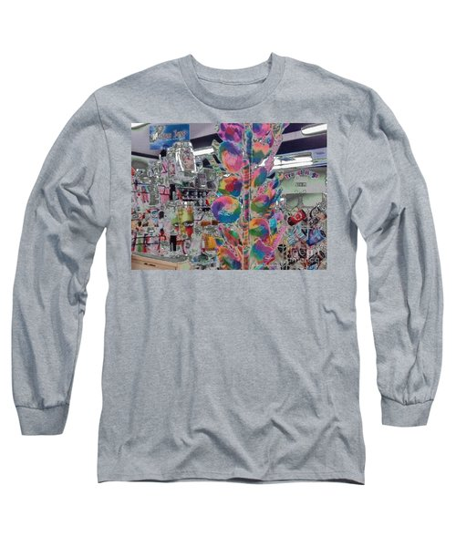 Candy Store Long Sleeve T-Shirt by Kathie Chicoine