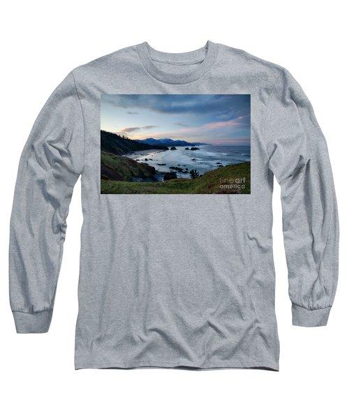 Cannon Beach View Long Sleeve T-Shirt