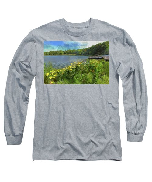 Canoe Number 9 Long Sleeve T-Shirt