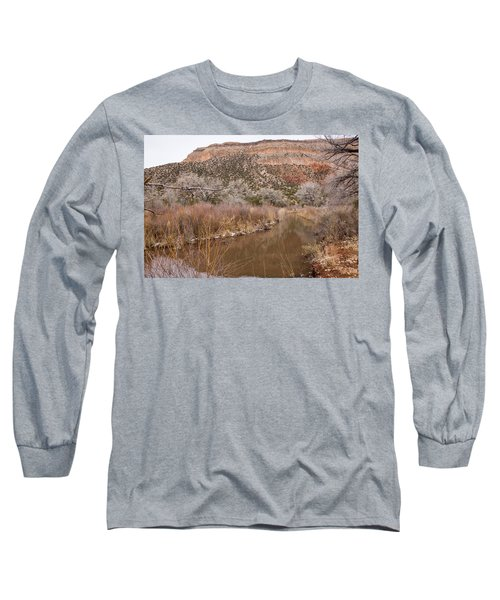 Canyon River Long Sleeve T-Shirt by Ricky Dean
