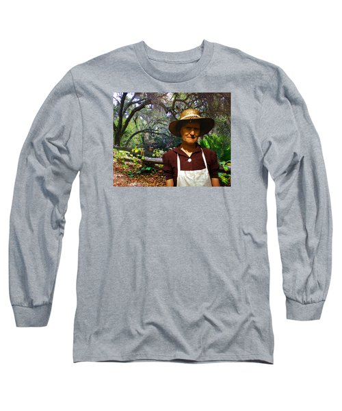 Long Sleeve T-Shirt featuring the photograph Canyon Woman by Timothy Bulone
