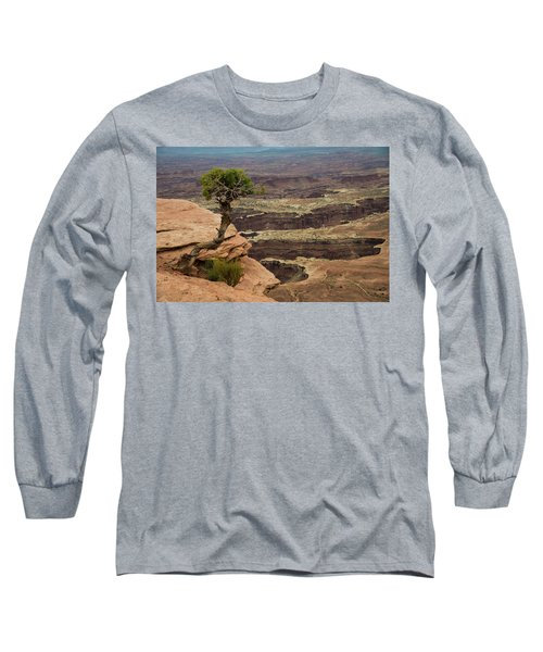 Long Sleeve T-Shirt featuring the photograph Canyonlands by Gary Lengyel