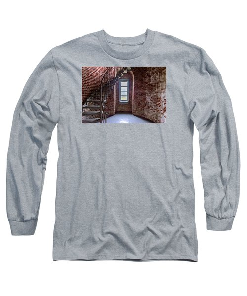Cape Blanco Lighthouse Long Sleeve T-Shirt