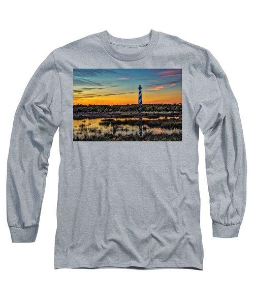 Cape Hatteras Lighthouse Long Sleeve T-Shirt