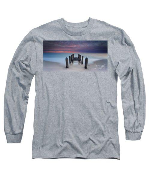 Cape May Beach Long Sleeve T-Shirt