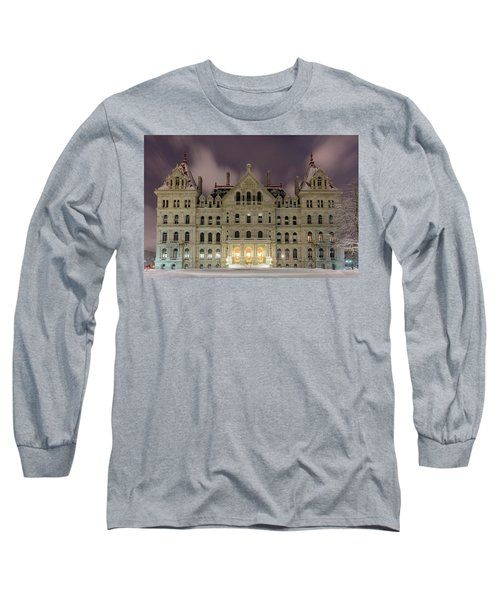 Capitol Snow Long Sleeve T-Shirt