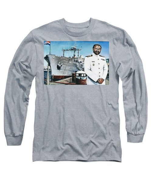 Capt Eric Green Long Sleeve T-Shirt