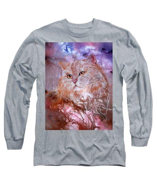 Caramel Cream Long Sleeve T-Shirt