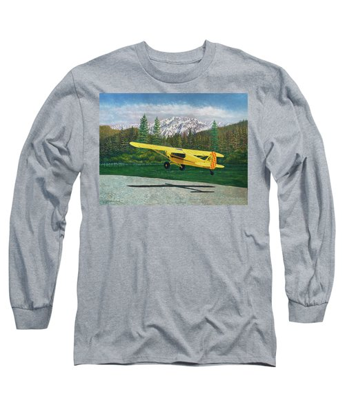 Carbon Cub Riverbank Takeoff Long Sleeve T-Shirt