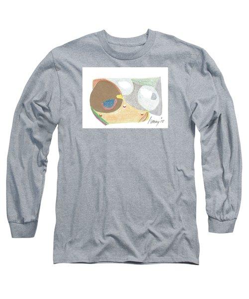 Card 5 Long Sleeve T-Shirt by Rod Ismay