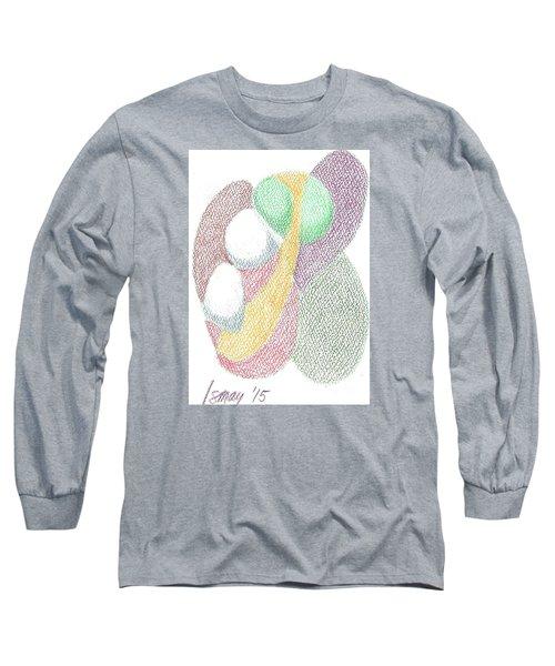 Card 6 Long Sleeve T-Shirt by Rod Ismay