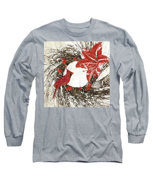 Cardinal Holiday I Long Sleeve T-Shirt