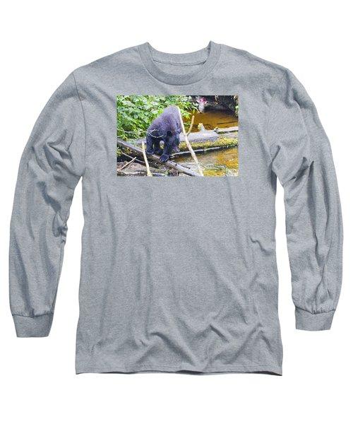 Careful Now Long Sleeve T-Shirt by Harold Piskiel