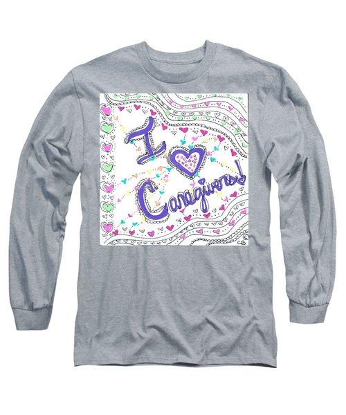 Caring Heart Long Sleeve T-Shirt