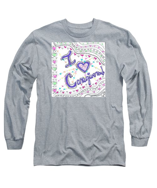 Caring Heart Long Sleeve T-Shirt