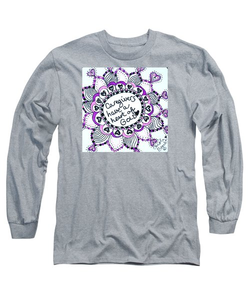 Caregiver Sun Long Sleeve T-Shirt by Carole Brecht