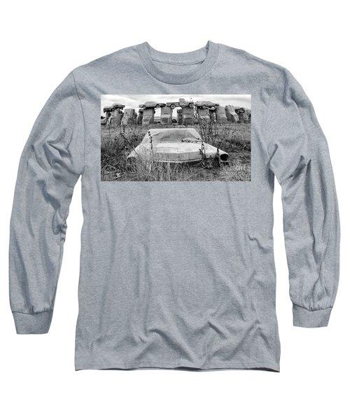 Carhenge Nebraska 22 Long Sleeve T-Shirt