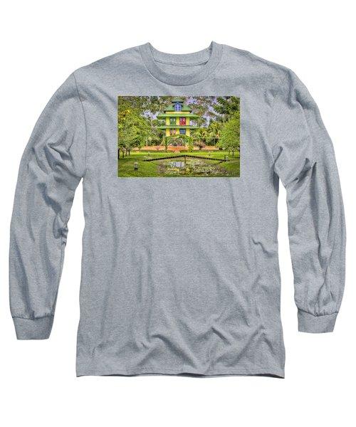 Caribbean Home Long Sleeve T-Shirt by Nadia Sanowar