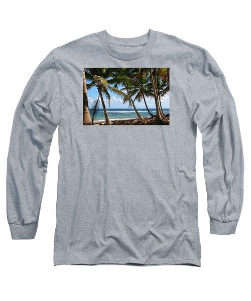 Caribbean Palms Long Sleeve T-Shirt