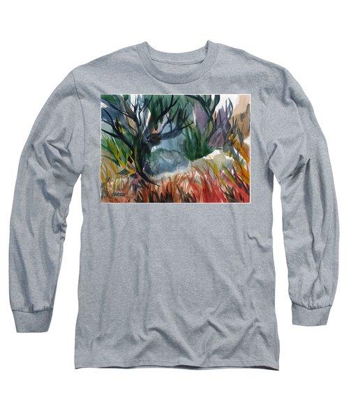 Caribbean Stroll Long Sleeve T-Shirt