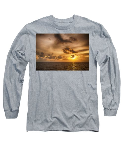 Caribbean Sunrise Long Sleeve T-Shirt