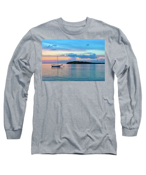 Caribbean Sunset Long Sleeve T-Shirt