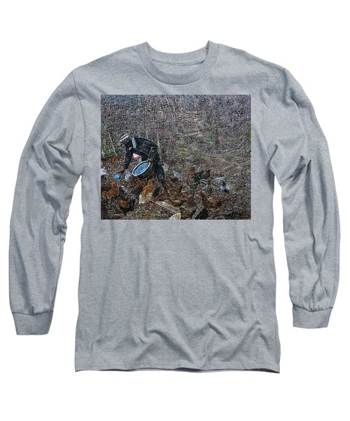 Caring For A Profit Long Sleeve T-Shirt
