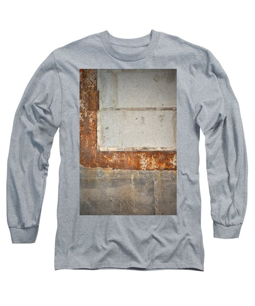 Carlton 14 - Abstract Concrete Wall Long Sleeve T-Shirt
