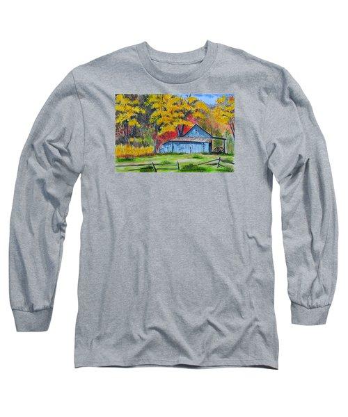 Carolina Barn Long Sleeve T-Shirt