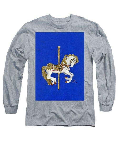 Carousel Horse #3 Long Sleeve T-Shirt