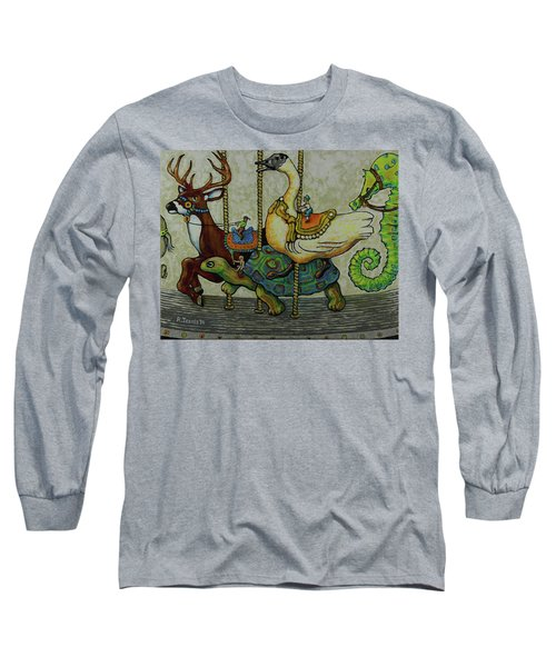 Carousel Kids 5 Long Sleeve T-Shirt