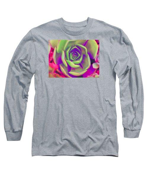 Carousel Long Sleeve T-Shirt by Vivien Rhyan