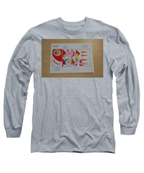 Carp Streamer Long Sleeve T-Shirt